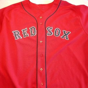 MLB Majestic Authentic BOSTON RED SOX JERSEY